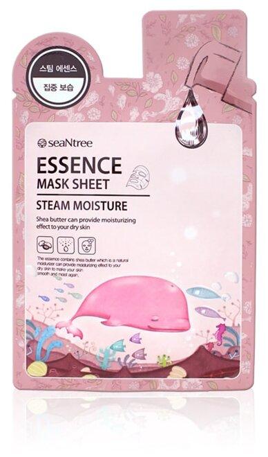 SeaNtree тканевая маска Steam Moisture Essence