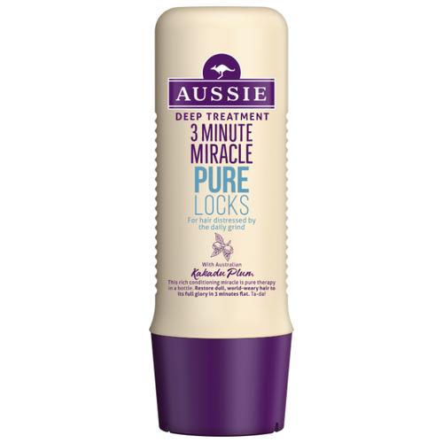 Aussie 3 Minute Miracle Средство интенсивного ухода для волос, страдающих от ежедневной укладки, 250 млМаски и сыворотки<br>