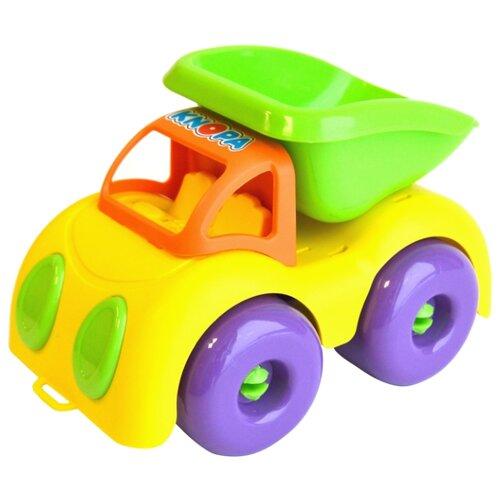 Купить Грузовик Knopa 86210 22 см зеленый/желтый/оранжевый, Машинки и техника