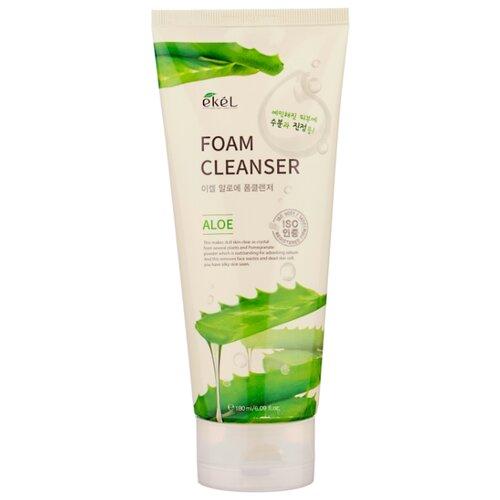 Ekel Foam Cleanser пенка для умывания с экстрактом алоэ, 180 млОчищение и снятие макияжа<br>