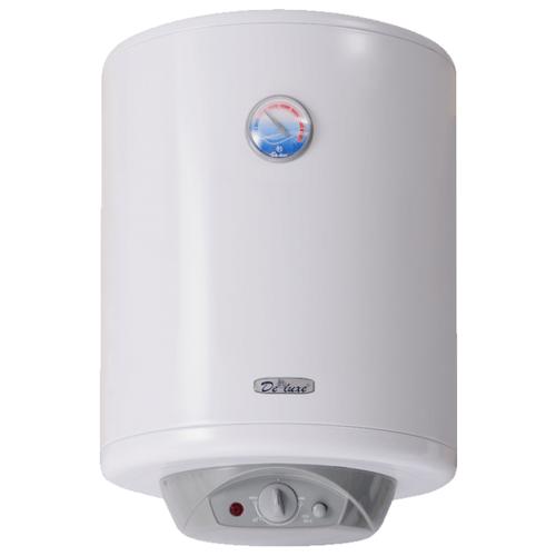 Накопительный электрический водонагреватель De Luxe W50VH1 водонагреватель накопительный de luxe w50v 50л 1 5квт белый