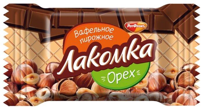Пирожные РотФронт Лакомка вафельные орех, 30г
