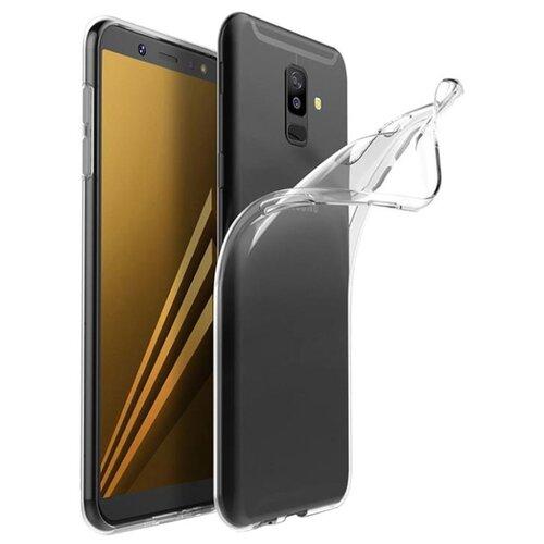 Чехол Gosso 178721 для Samsung Galaxy A6+ (2018) прозрачный чехол накладка для samsung galaxy s9 plus со стразами gosso cases