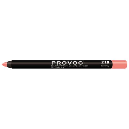 Provoc Гелевая подводка в карандаше для губ Semi-Permanent Gel Lip Liner 210 bow dayКонтур для губ<br>