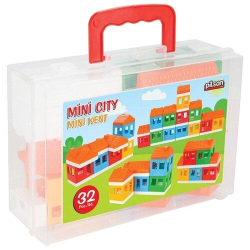 Купить Конструктор pilsan 03-100 Mini City, Конструкторы
