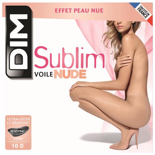 Колготки DIM Sublim Voile Nude 10 den beige eclat 4 (DIM)Колготки и чулки<br>