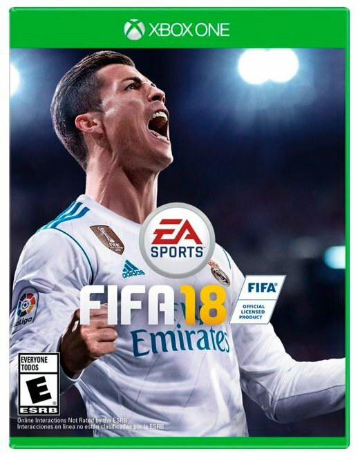 Игра для Playstation 4 Fifa 18 русская версия
