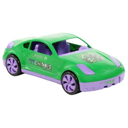 Легковой автомобиль Полесье Мстители Халк в коробке (71231) 36.1 см зеленый beko wkb 71231 ptma