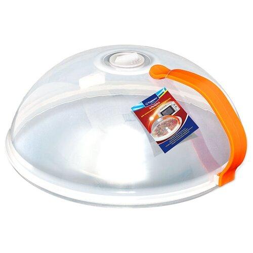 Колпак Topperr 3428 (26 см) прозрачный/оранжевый