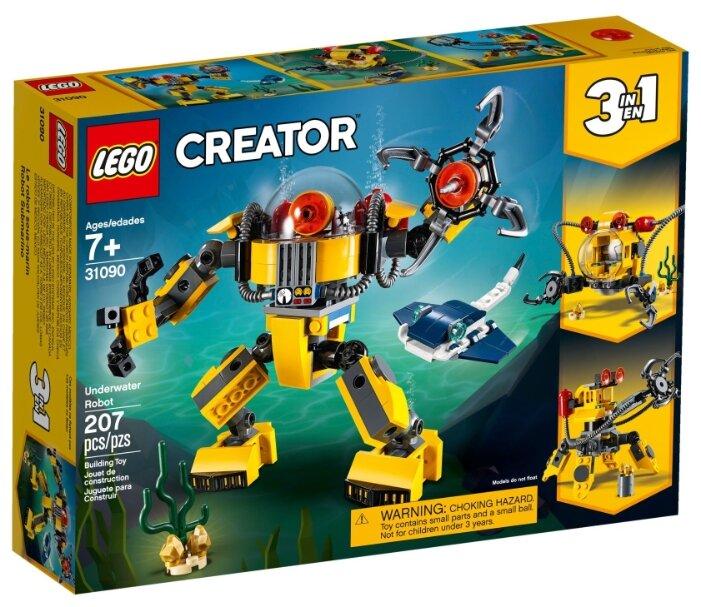 Конструктор LEGO Creator 31090 Конструктор лего Криэйтор Робот для подводных исследований
