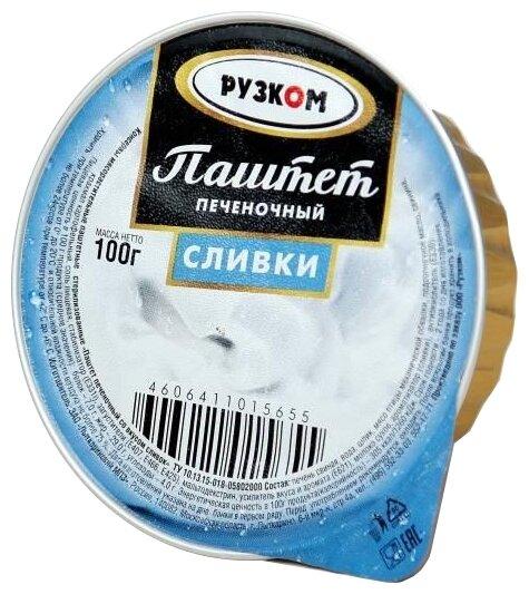 Паштет Рузком печёночный «Сливки» 100 г