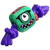 Игрушка для собак GiGwi Monster Rope Монстр с резиновой веревкой (75434)