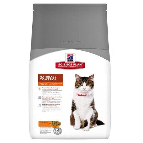 Корм для кошек Hills Science Plan Feline Adult Hairball Control Chicken (1.5 кг)Корма для кошек<br>