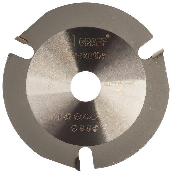 Диск отрезной 125x22.23 GRAFF Speedcutter 125 1 шт.