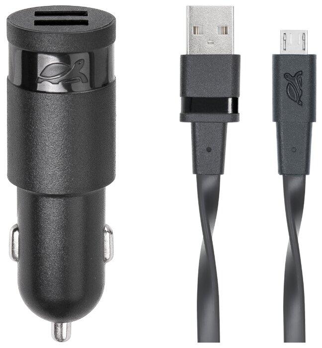 Автомобильная зарядка RIVACASE Rivapower VA4222 + Micro USB