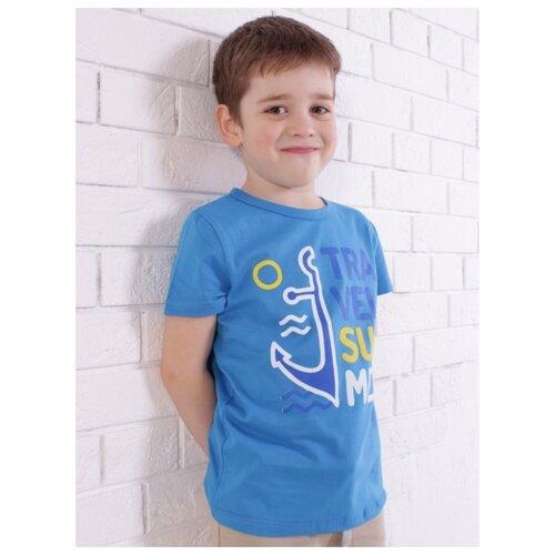 Купить Футболка Jewel Style размер 110, синий, Футболки и майки