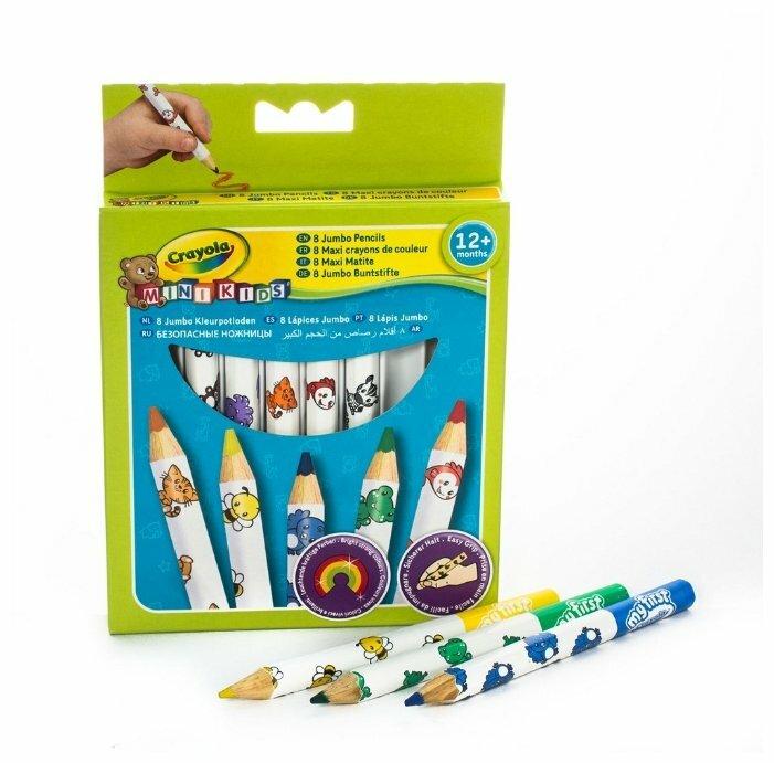 Crayola Цветные карандаши 8 цветов (3678)
