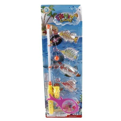 Рыбалка Shantou Gepai 6 предметов BW30036-3 белый/желтый недорого