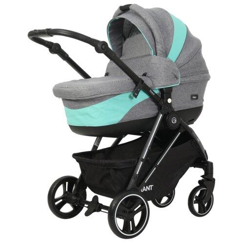 Универсальная коляска RANT Neo (2 в 1) grey/aquamarine