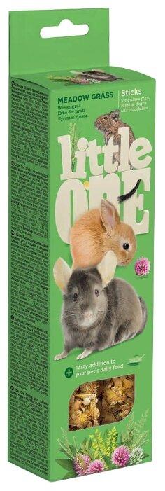 Лакомство для кроликов, грызунов Little One Sticks Meadow grass