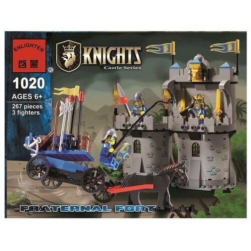 Купить Конструктор Qman Knights 1020 Братское укрепление, Конструкторы