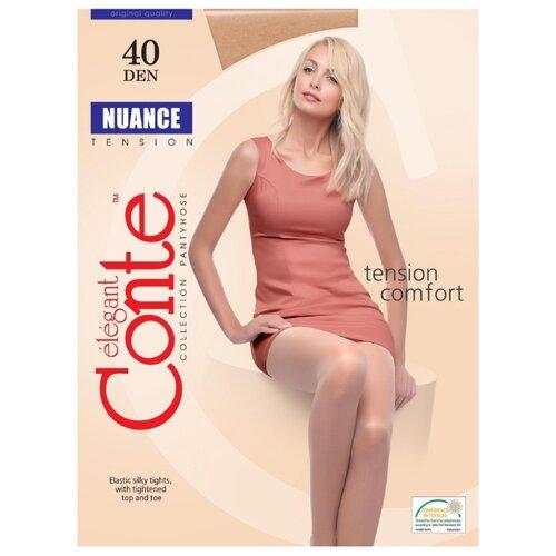 Фото - Колготки Conte Elegant Nuance 40 den, размер 4, beige (бежевый) комплект conte elegant conte elegant mp002xw13v8a