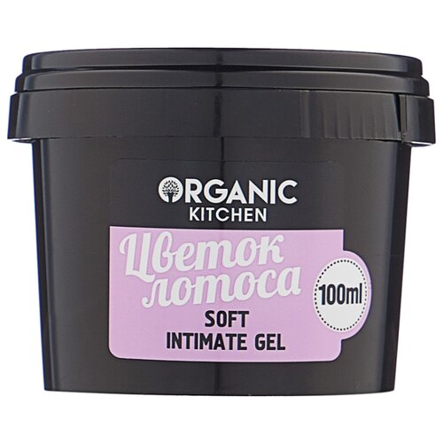 Organic Shop Гель нежный для интимной гигиены Цветок лотоса, 100 млСредства для интимной гигиены<br>