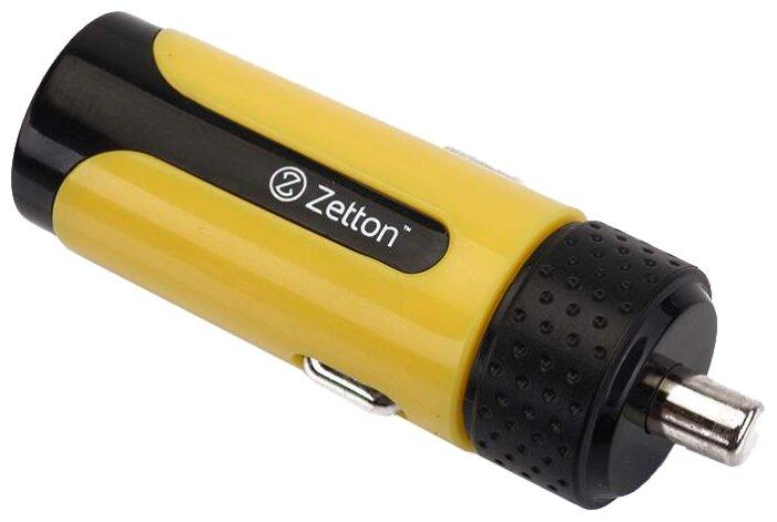 Автомобильная зарядка Zetton ZTLSCC2A1UBY