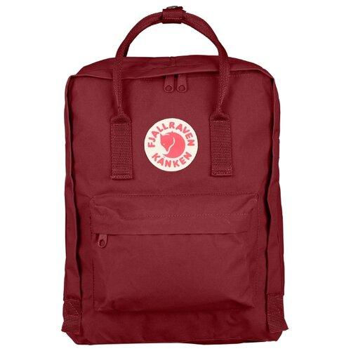 Рюкзак Fjallraven Kånken 16 (ox red) рюкзак городской fjallraven kanken цвет красный 20 л