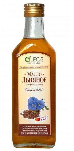 Олеос масло пищевое Льняное (Питание) 200мл