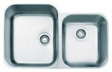 Врезная кухонная мойка ALVEUS Duo 50 81х52см нержавеющая сталь