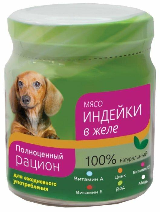 Корм для собак Titbit Консервы для собак мясо индейки в желе