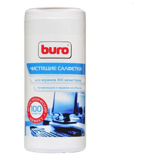 Фото - Buro BU-Tscreen влажные салфетки 100 шт. для экрана, для ноутбука аккумулятор для ноутбука ibatt apple a1395 ib a405