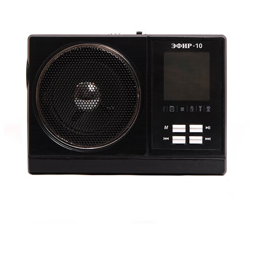 Радиоприемник ЭФИР 10 черный