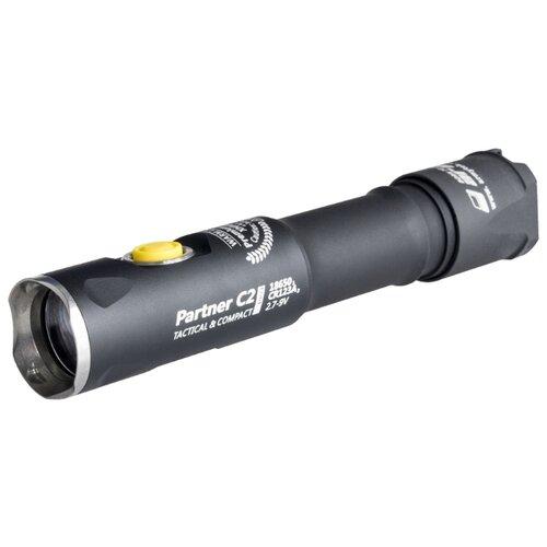 Тактический фонарь ArmyTek Partner C2 Pro v3 XHP35 (тёплый свет) черный