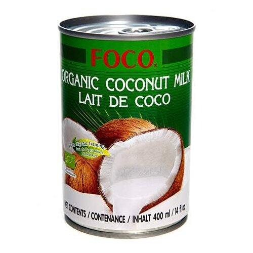 FOCO Органическое кокосовое молоко 10-12%, 400 мл фото