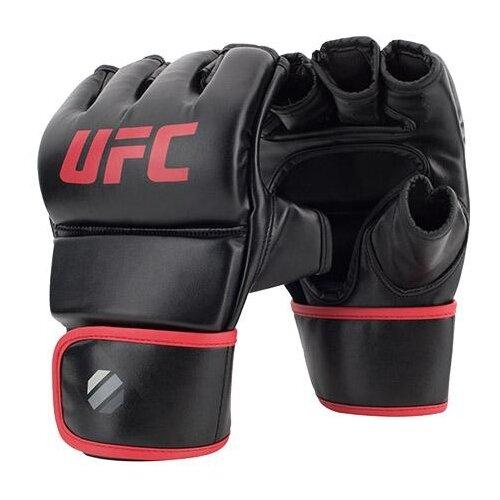 Тренировочные перчатки UFC Fitness для MMA черный L/XL 6 oz футболка мужская affliction 331254899788 ufc mma