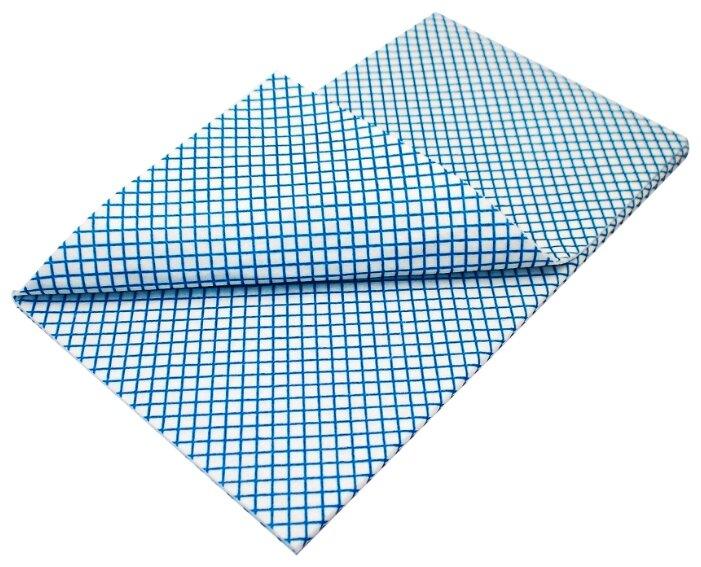 Тряпка для мытья пола aQualine 50х60 см. белый/синий