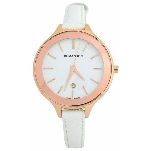 Наручные часы ROMANSON RL4208LR(WH)WH наручные часы romanson rl3239lg wh wh