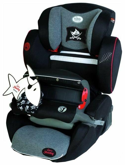 Автокресло группа 1/2/3 (9-36 кг) Kiddy Comfort Pro Design