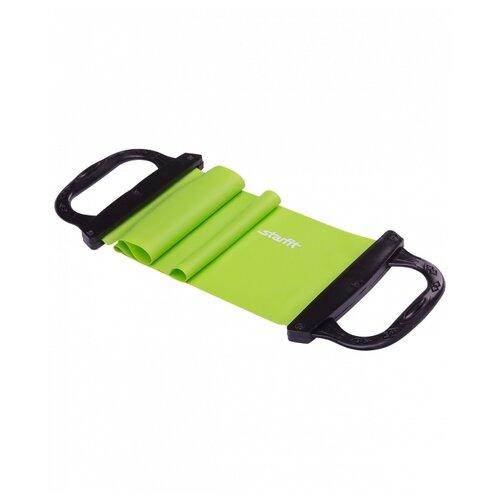 Эспандер лента Starfit ES-202 75 х 14.5 см зеленый эспандер лента starfit es 801 23 68кг 208 х 6 4 см фиолетовый