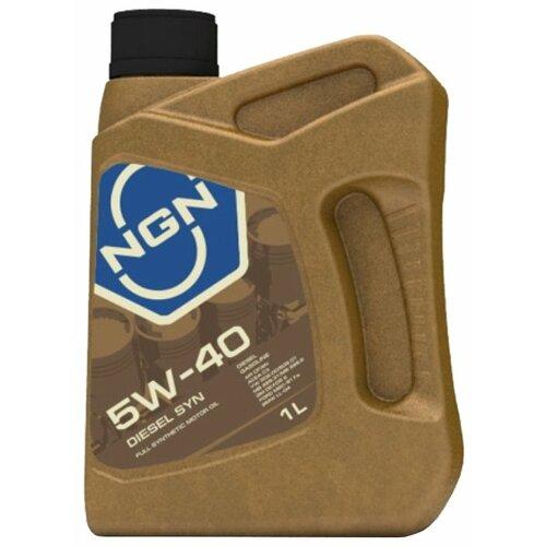Моторное масло NGN Diesel Syn 5W-40 1 л
