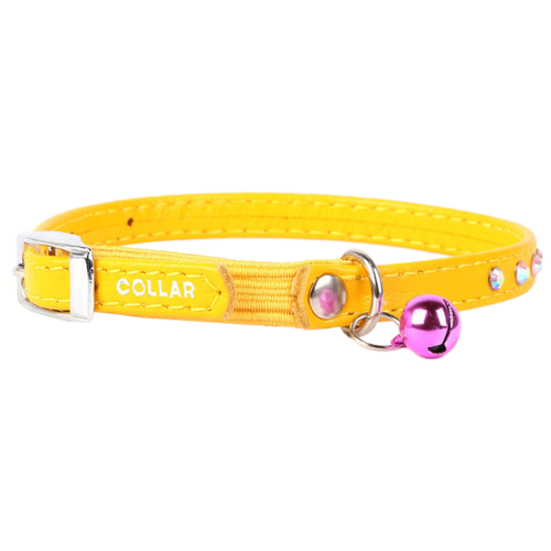 Ошейник COLLAR Glamour (3254) желтый