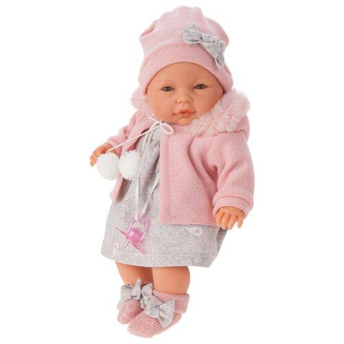 Купить Кукла Antonio Juan Хуана в розовом 37 см 1448P, Куклы и пупсы