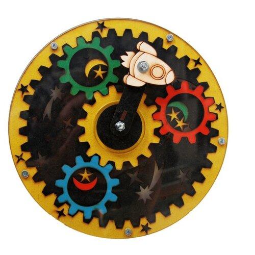 Развивающая игрушка Большой слон Космос желтый/зеленый/красный/голубой/черный