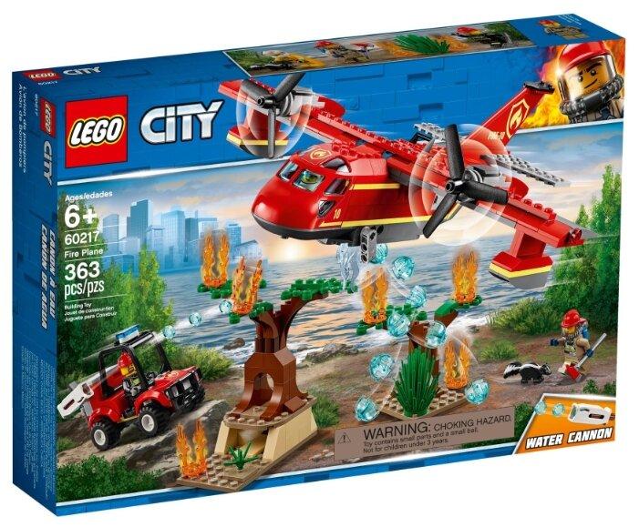 Конструктор LEGO City 60217 Пожарный самолёт