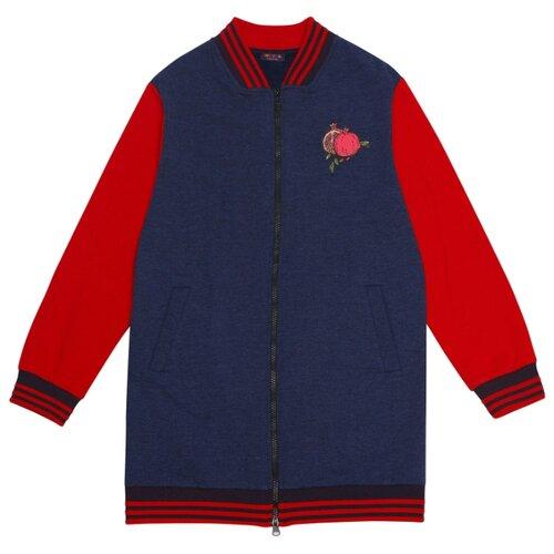 Купить Олимпийка Chinzari размер 152/158, темно-синий меланж, Толстовки