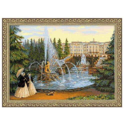 Купить Риолис Набор для вышивания крестом Петергоф 40 х 30 см (1133), Наборы для вышивания