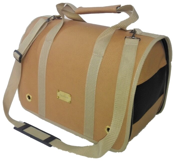 Переноска-сумка для кошек и собак LOORI Z2345 49х30х35 см бежевый
