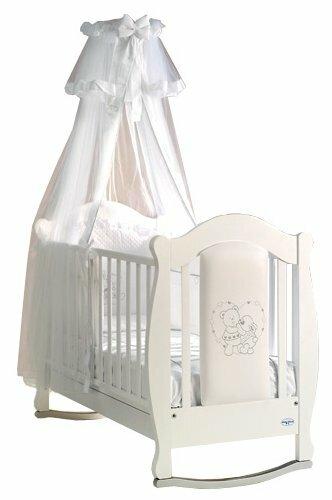 Кроватка Baby Italia Incanto (качалка), на полозьях